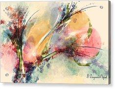 Reve Acrylic Print by Francoise Dugourd-Caput