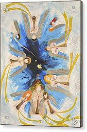 Revelation 8-11 Acrylic Print by Cassie Sears
