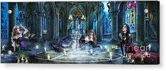Reverence Acrylic Print by Drazenka Kimpel