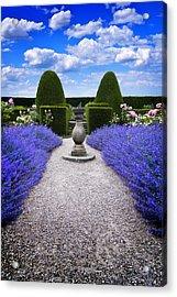 Rhapsody In Blue Acrylic Print by Meirion Matthias