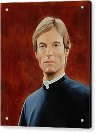 Richard Chamberlain Acrylic Print by Lepercq Veronique