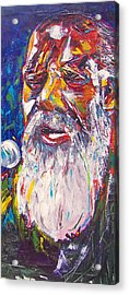Richie Havens - Freedom Acrylic Print by Valerie Wolf