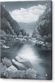Richland Creek Acrylic Print by Garry McMichael
