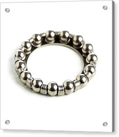 Ring Of Ball Bearings Acrylic Print by Science Photo Library