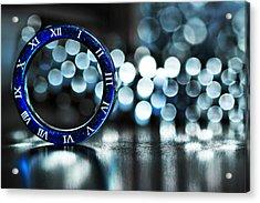 Ring Of Time Acrylic Print by Suradej Chuephanich