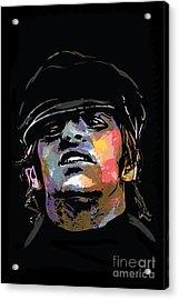 Ringo Starr Acrylic Print by Andrzej Szczerski