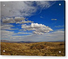 Rio Grande Valley Afternoon Acrylic Print by Feva  Fotos