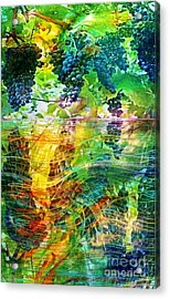 Ripened Vines Acrylic Print by PainterArtist FIN