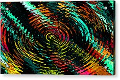 Ripple In Time Acrylic Print by Josephine Ring