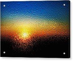 Rising Sun Acrylic Print by Tom Druin