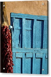 Ristras In Taos Acrylic Print by Gia Marie Houck