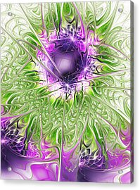 Ritual Acrylic Print by Anastasiya Malakhova