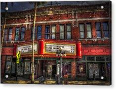 Ritz Ybor Theater Acrylic Print by Marvin Spates