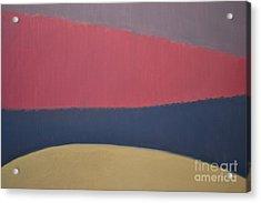 River Acrylic Print by Karen Francis