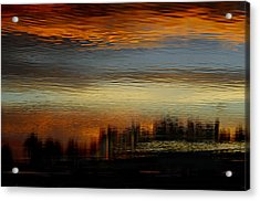 River Of Sky Acrylic Print by Laura Fasulo