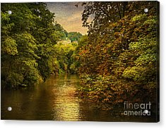 River Path Acrylic Print by Svetlana Sewell