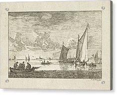 River View, N. De Vries Acrylic Print by Artokoloro