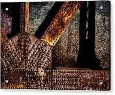 Rivets  Acrylic Print by Bob Orsillo