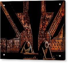 Rivets Number Three Acrylic Print by Bob Orsillo
