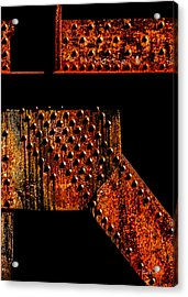 Rivets Number Two Acrylic Print by Bob Orsillo