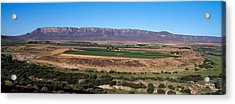 Road From Cape Town To Namibia Acrylic Print by Panoramic Images