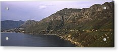 Road Leading Towards A Mountain Peak Acrylic Print by Panoramic Images