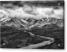 Road Less Traveled Acrylic Print by Mike Lang