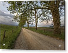 Road Not Traveled II Acrylic Print by Jon Glaser