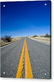 Road Through Sulphur Flats Acrylic Print by Jim DeLillo