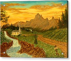 Road To Redemption Acrylic Print by David Bentley