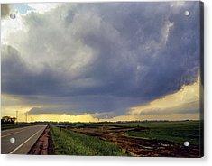 Road To The Tornado - Woonsocket South Dakota Acrylic Print by Jason Politte