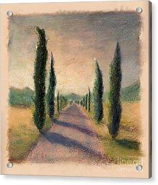 Roadway To Somewhere Acrylic Print by Logan Gerlock