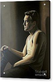 Robert De Niro Acrylic Print by Paul Meijering