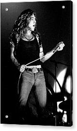 Robert Plant Led Zeppelin 1971 Acrylic Print by Chris Walter