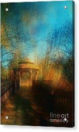 Robindro Acrylic Print by Floyd Menezes
