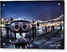 Robot Views Acrylic Print by Andrew Paranavitana