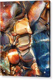 Rock Bottom Acrylic Print by Terril Heilman