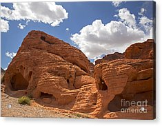 Rock Formations Valley Of Fire Acrylic Print by Jane Rix