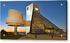 Rock Hall Stones Tribute Acrylic Print by Frozen in Time Fine Art Photography