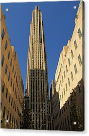 Ge Building  Acrylic Print by Dan Sproul