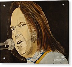 Rockin The Free World Forever Acrylic Print by Stuart Engel