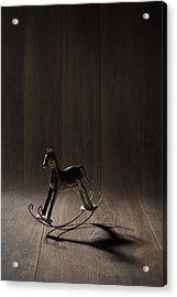 Rocking Horse Acrylic Print by Amanda Elwell