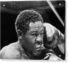 Rocky Marciano Fist Acrylic Print by Underwood Archives
