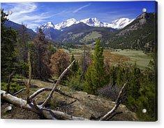 Rocky Mountain National Park Acrylic Print by Joan Carroll