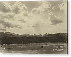 Rocky Mountains Front Range Acrylic Print by Kay Pickens