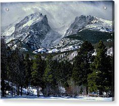 Rocky Mountains Acrylic Print by Jim Hill