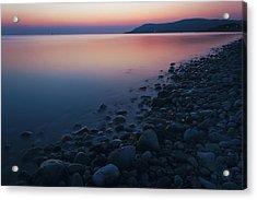 Rocky Sunset Acrylic Print by Ian Mitchell
