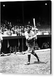 Rogers Hornsby Warm Up Swings Acrylic Print by Retro Images Archive