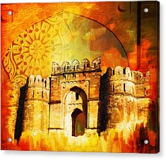 Rohtas Fort 00 Acrylic Print by Catf