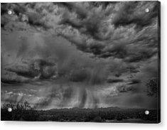 Roiling Sky Acrylic Print by Judi FitzPatrick